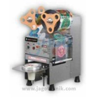 CUP SEALER FULL AUTO STAINLES / MESIN PRESS CUP FULL AUTO STAINLIES