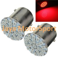 Lampu LED Mobil / Motor S25 1156 / BA15S 22 SMD 3014 - Red