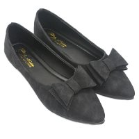 Dr.Kevin Women Flat Shoes 65151 Black