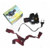 senter kepala cas 1911/recharger headlamp