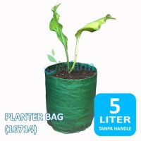 Jirifarm (10714) Planter Bag non Handle 5 L Diameter 18cm Tinggi 20cm