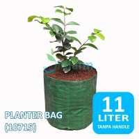 Jirifarm (10715) Planter Bag non Handle 11 Liter Diameter 24cm Tinggi 25cm