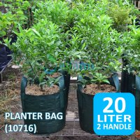 Jirifarm (10717) Planter Bag with Handle 20 Liter Diameter 32cm Tinggi 25cm