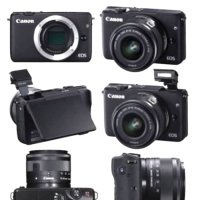Camera Canon EOS M10 KIT EF-M 15-45 is STM, 18 MP. Mirr