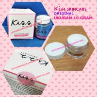 UKURAN 10 GRAM KISS SKINCARE COLLAGEN WHITE MASK