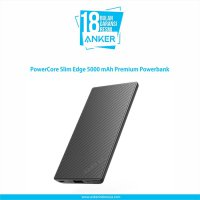 Anker PowerCore Slim Edge 5000 mAh Premium Powerbank