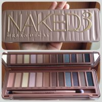 Naked 3 ~ Urban Decay Eyeshadow Palette ~ Naked 3D ~ Rose ~ Gold Palette