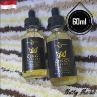 Kings Reserve 60ml Eliquid Vape - Nutty Mocha (Premium Liquid)