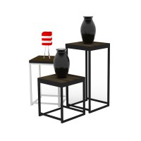 Prissilia Meja Minimalis Side Table Combination
