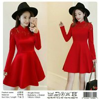 XINGJIA IMLEK DRESS(CAN)BAHAN BRUKAT MIX BABYTERRY TEBAL FIT TO L +