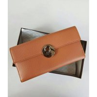 DOMPET GUCCI ORIGINAL - Gucci Leather Buckle Continental Wallet