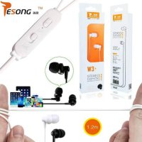 EARPHONE STEREO W3+ by VIVAN