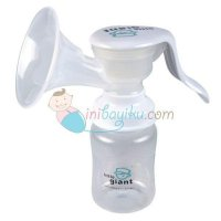 Little Giant Emily Manual Breast Pump Color White For Girls