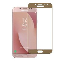 HMC Samsung Galaxy J5 PRO 2017 / J530 - 2.5D Full Screen Tempered Glass - Lis Emas