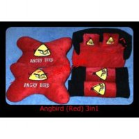 Bantal Mobil Angry Bird 3in1