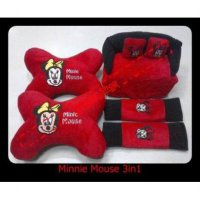 Bantal Mobil Minnie Mouse 3in1