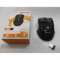 Mouse Wireless Apollyon Black Murah