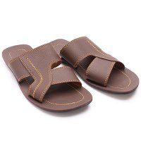 [FREE ONGKIR*] Dr.Kevin Leather Sandals 97184 Brown, Black