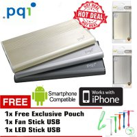 Pqi i-Power 5000V Power bank 5000 mAh Input 2A Output 2.4A + Bonus