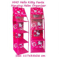 HHOZ Hello Kitty Fanta (Hanging Helm Organizer Zipper) Rak Helm Gantung Retsleting Karakter