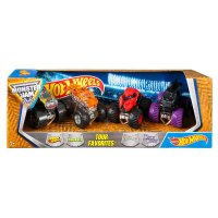 HW124 Hot Wheels Monster Jam 4 Pcs Tour Favorites Original Item
