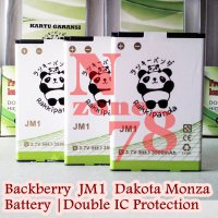 Baterai Blackberry Dakota Monza JM1 Double IC Protection