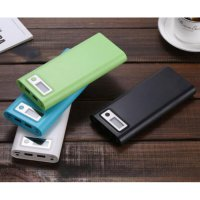 DIY Power Bank Case USB Type C Dual Output LCD 8x18650