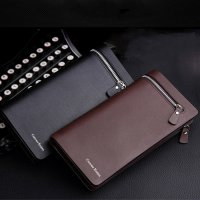 Dompet Genggam Clutches Kulit Zipper Leather Handbag
