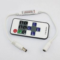 [macyskorea] Hooshion 5V-24V LED Mini Dimmer 11 key RF Wireless Remote For LED Light Strip/18313931