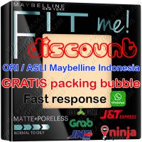 Maybelline Fit Me Powder bedak Matte + Poreless - ORIGINAL / ASLI