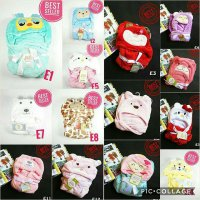 [Carter]Selimut topi bayi Carter 3D double fleece/ Selimut bayi Carters 3D