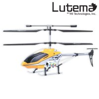 RC Helicopter Mid-Sized Lutema 3.5CH RTF Large 17' LED Light