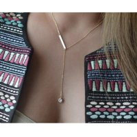 Kalung Korea Best Seller ETSY Forever21 diamond decorated simple