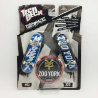 [globalbuy] 1pc Brand New double board 96mm Fingerboard Tech Decks Zoo York throwbacks Ska/3302378
