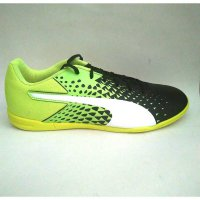 Sepatu Futsal Puma Evospeed Sala Graphic Yellow Original Asli Murah