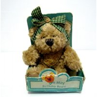 Boneka Teddy Bear Original Bear Studio USA Birthday Bears Emerald