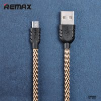 [REMAX] Suteng Micro-USB Braided Cable for Smartphone - 1-Meter Yellow