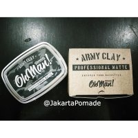 Oh Man Pomade Clay Army the Professional Waterbased Matte