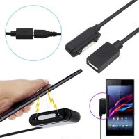 Micro USB to Magnetic Charger Adapter Cable For Sony Xperia Z1 L39h Z2 Ultra XL39h