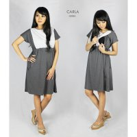 Just Mom Baju Menyusui Dress Carla CR104