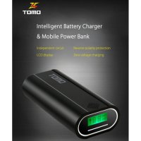 TOMO M2 DIY Power Bank Case 2 USB Port + LCD Display