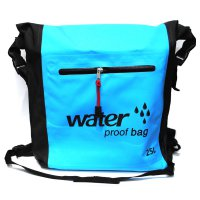 Tas Ransel Bucket Dry Bag Waterproof 25L - OB-106 - Blue