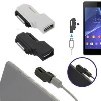 Micro USB To Magnetic Charger Adapter Converter For Sony Xperia Z1 Z2 Z3 Compact