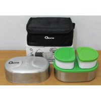 [oxone] Lunch Box, Oxone Stainless Lunch Box OX-065, Tempat Makan Modern, Kotak Makan Cantik