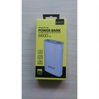 POWERBANK ROBOT RT7100 / RT 7100 6600mAh 2 PORT USB POWER BANK