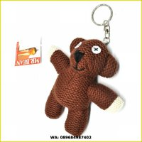 MR. BEAN TEDDY BEAR DOLL KEY CHAIN / boneka gantungan kunci mr beruang