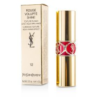 Yves Saint Laurent Rouge Volupte Shine - Pewarna Bibir - # 12 Coral Incandescent 4.5g/0.15oz