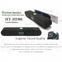 Wireless Speaker HY-BT303 Sound System 3D Stereo Surround Music ( Limited Edition )