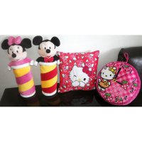 Bantal Hello Kitty/ Guling Mickey Minnie