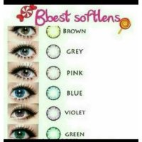 B-BEST SOFTLENS / Dia : 15mm/ WATER: 55%/6BULANAN